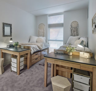 shared room in 3 bedroom student apartment