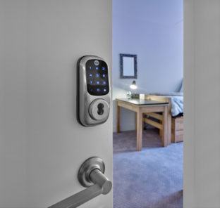 Fob and key code security for student apartments